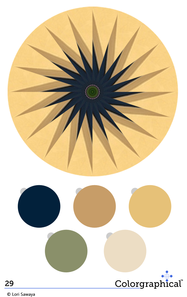 Color Inspiration California Paints No. 29