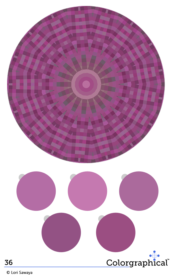 Color Inspiration 36 Radiant Orchid