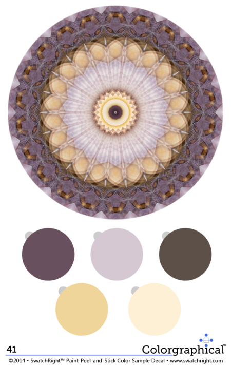 Color Inspiration 41 featuring Ellen Kennon Paint from Swatch Right