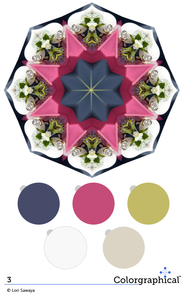 Color Inspiration 3 featuring Ellen Kennon Paint from Swatch Right