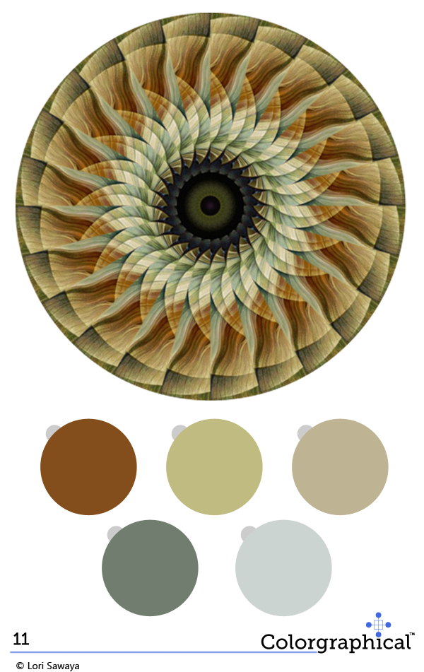 Color Inspiration 11 featuring C2 Paint from Swatch Right